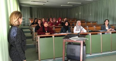 "lectures start for the Master program in the field of ""Public Health Management,"" in Monastir University – Tunisia from the beginning of the academic year 2017/2018 ."