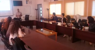 International Guest Lecturers for Public Health Management Master's Students in Tunisia